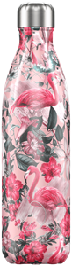 Botella térmica Chilly´s Flamencos rosas 750 ml.