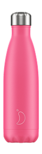 Botella térmica Chilly´s Neón Rosa 500 ml