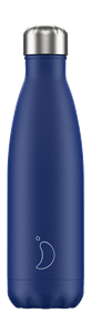Botella térmica Chilly´s Mate azul 500ml.