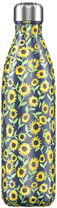 Botella Chillys 750 ml Girasoles